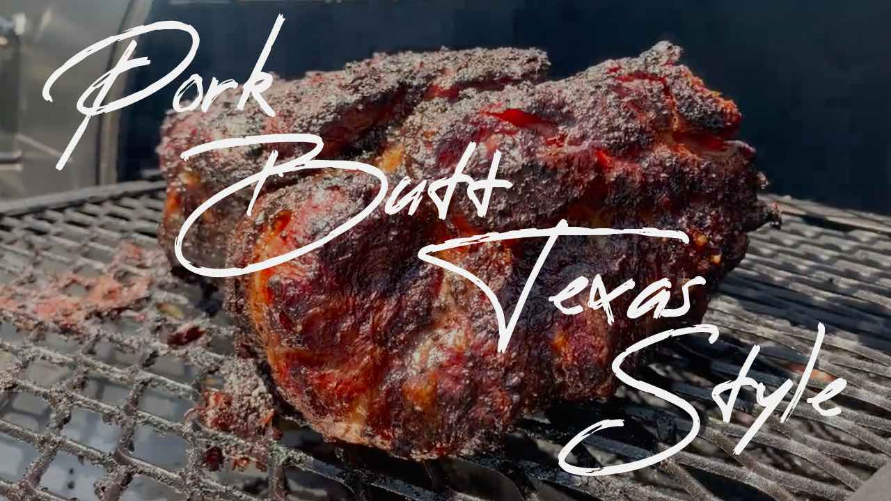 texas style pork butt