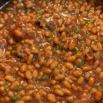 finished baked beans