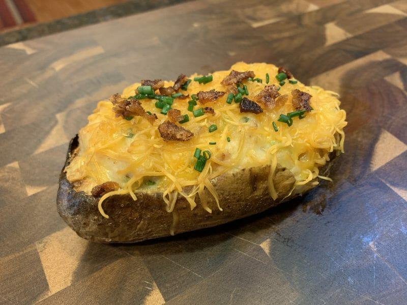 twice smoked potato