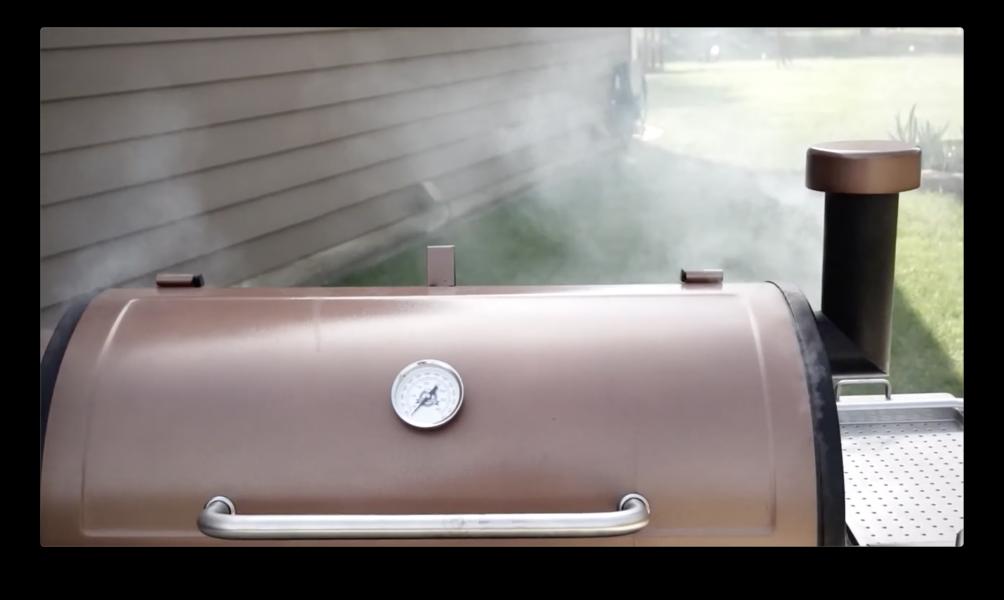 Pit Boss Austin XL rolling smoke