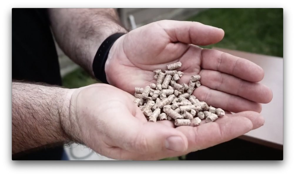 Handful of pellets