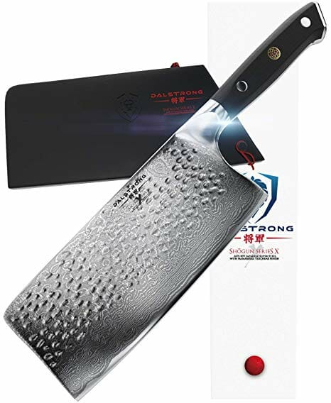 Dalstrong meat cleaver