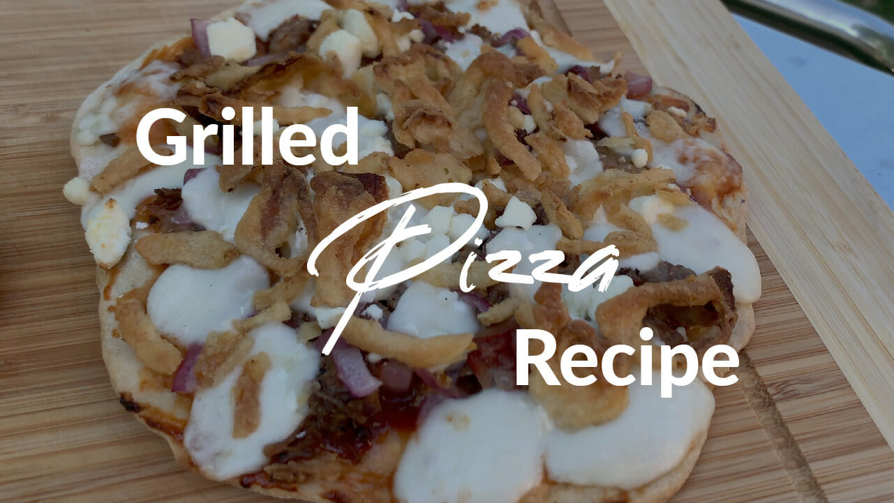 Grilled Pizza recipe