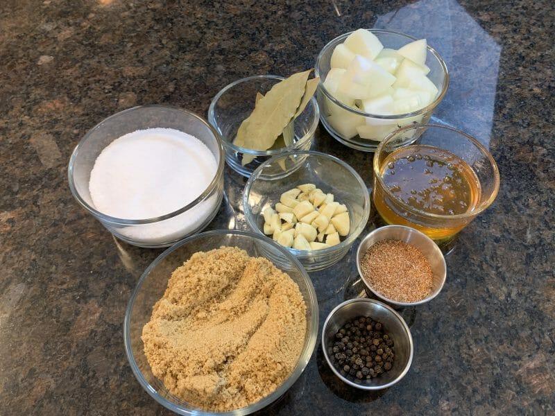 turkey brine ingredients
