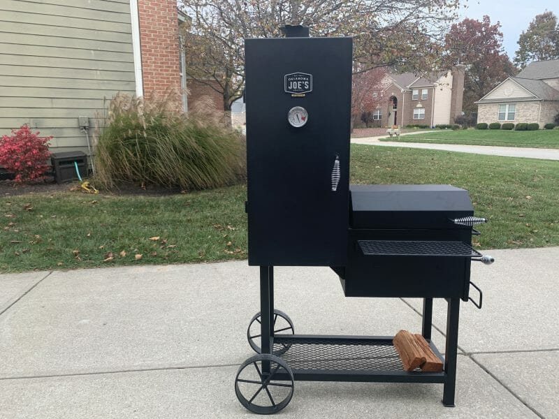 Oklahoma Joe Bandera vertical offset smoker