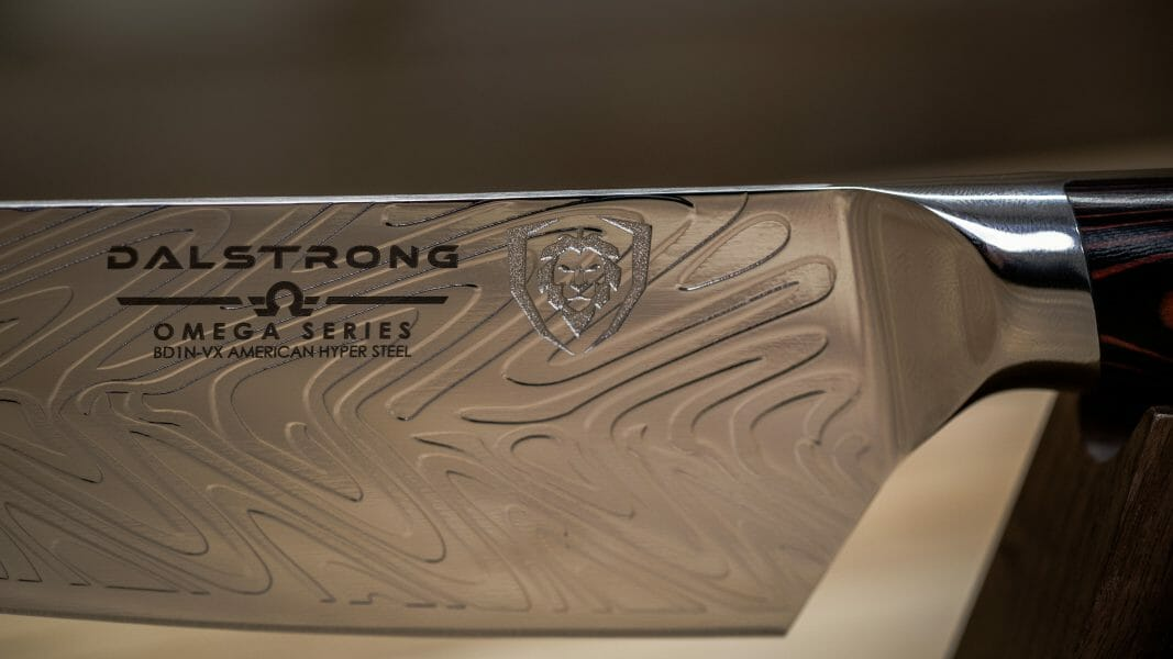 Dalstrong logo on blade