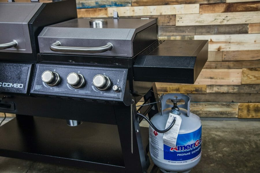 KC Combo gas grill
