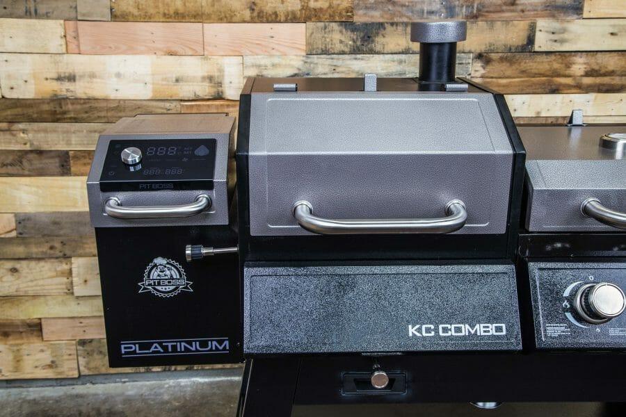 KC Combo pellet grill