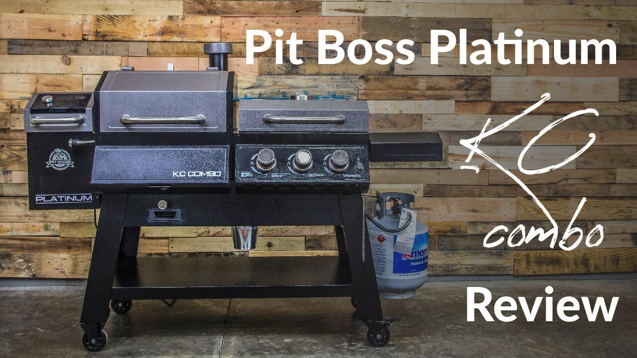 Pit Boss Platinum KC Combo