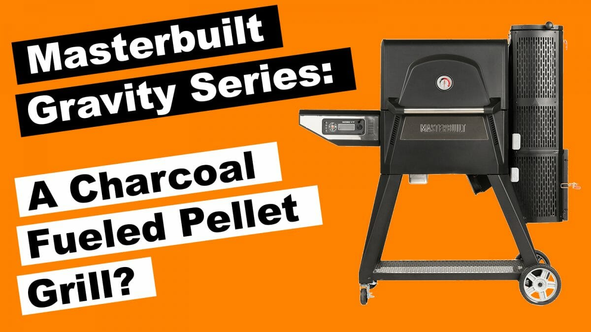 Masterbuilt Gravity Series Charcoal Smoker