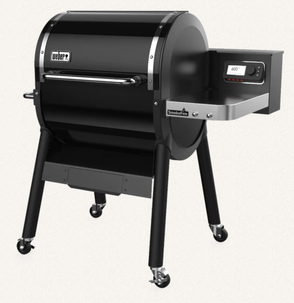 Weber SmokeFire EX4 Side Profile View
