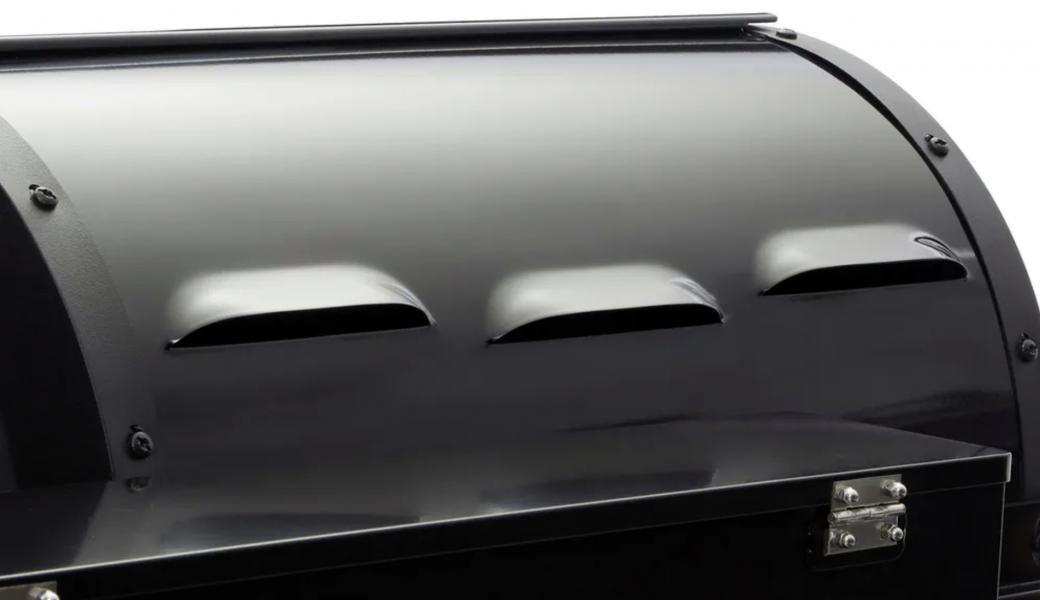 Weber pellet grill rear vents