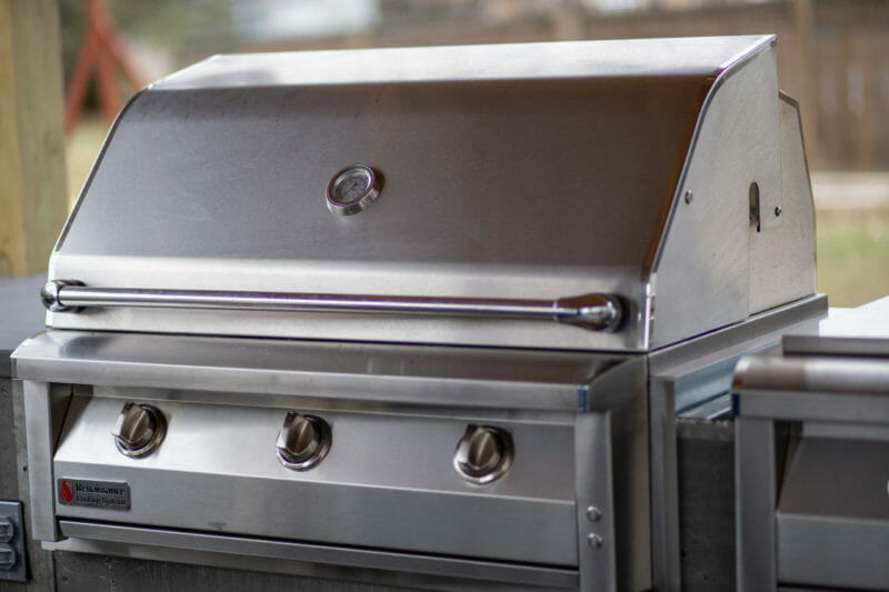American Renaissance gas grill
