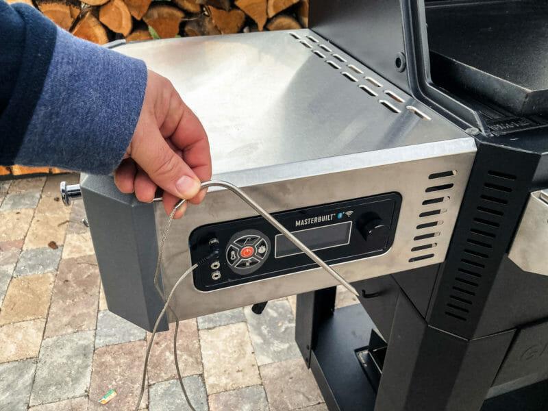 temperature probe and controller