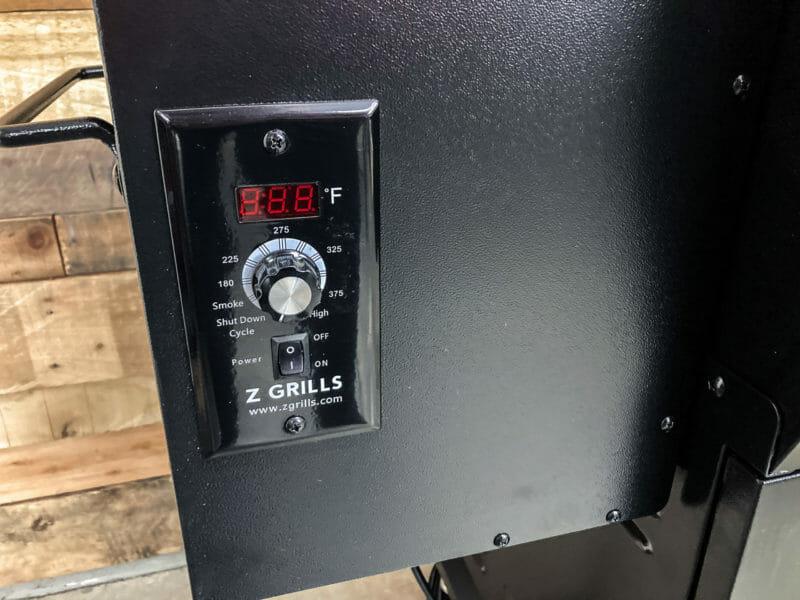 digital controller on the 1000E