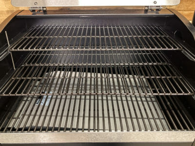 3 Shelves for cooking on the Z Grills 1000E