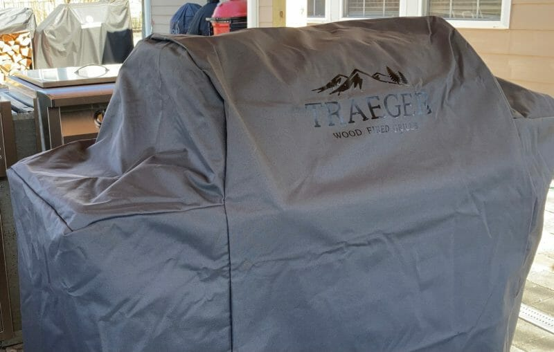 Traeger Ironwood with cover