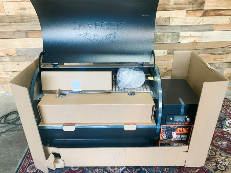 Ironwood 885 pieces packed inside cooking chamber