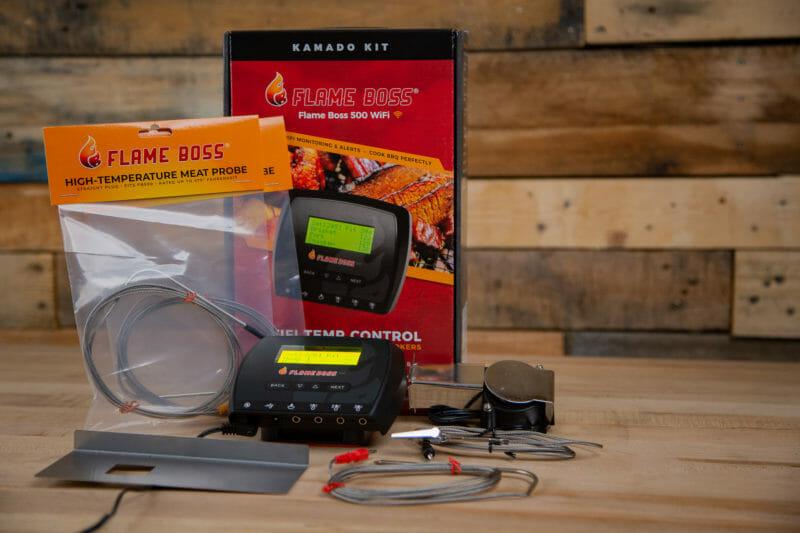 Flame Boss 500 smoker controller kit