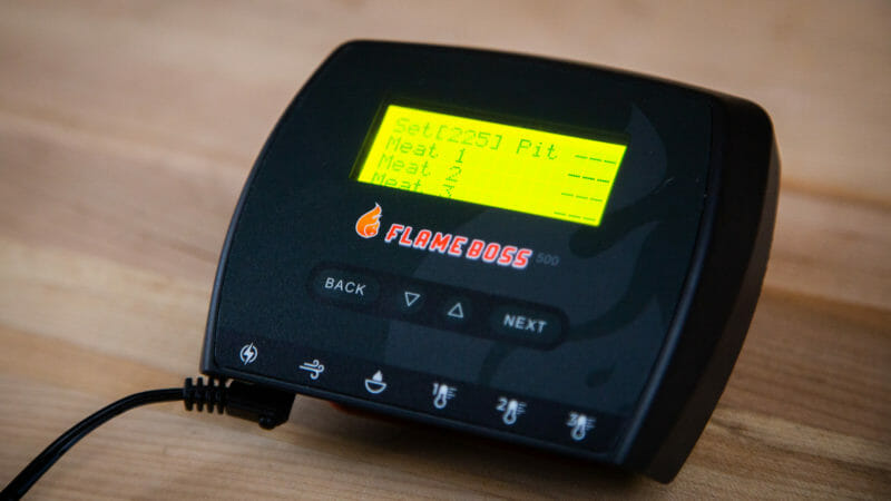 Flame Boss 500 smoker controller
