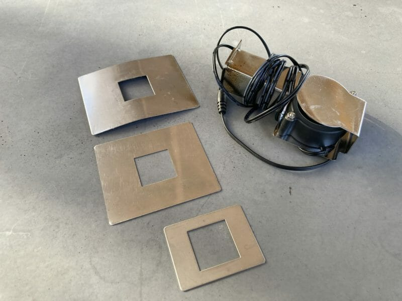 blower fan and grill adapters