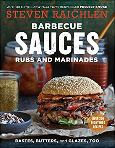 barbecue sauces rubs and marinades book cover