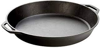 "17"" cast iron pan"