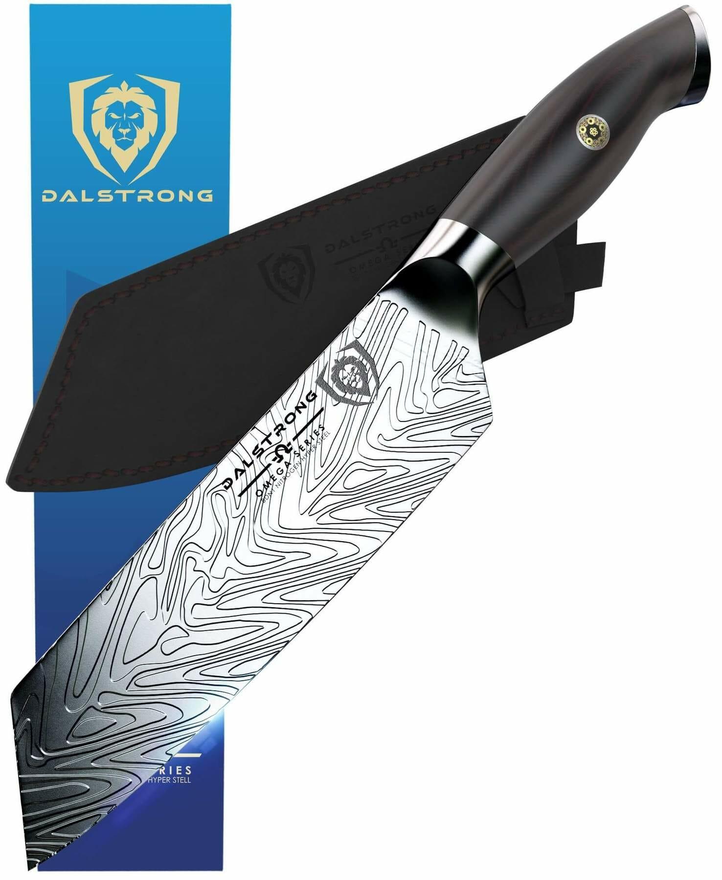 dalstrong omega santoku knife