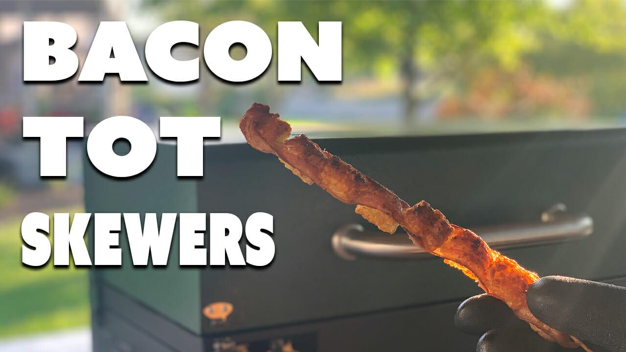 bacon tater tot skewers