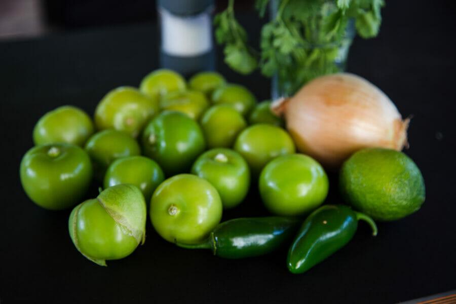 tomatillos look like small green tomatoes